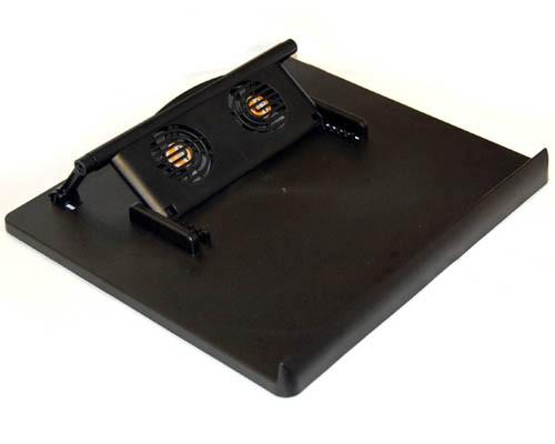 NC-768  Bytecc Adjustable + 4ports USB Hub Quiet Notebook Cooler