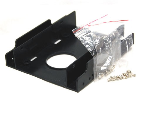 """Bracket-35225  2.5 Inch HDD/SSD Mounting Kit For 3.5"""" Drive Bay or Enclosure"""
