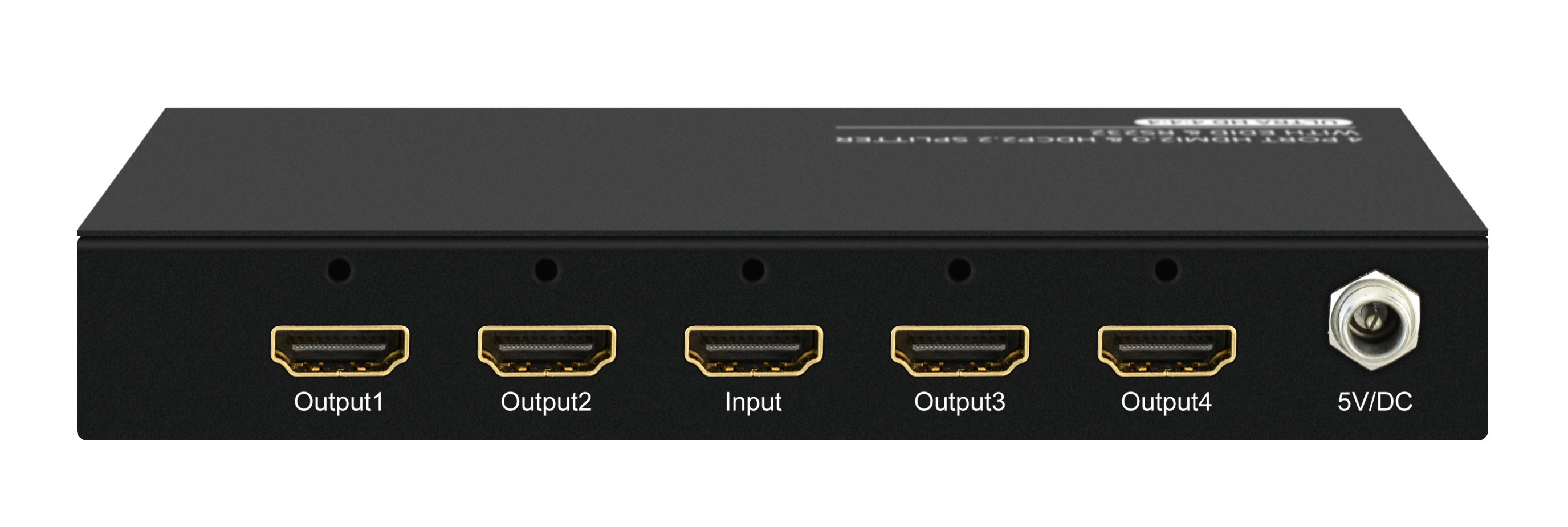 1X4 HDMI2.0 & HDCP2.2 SPLITTER WITH EDID & RS232