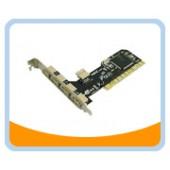 BT-U2410V  4 External Ports + 1 Internal Port USB 2.0 PCI Card (VIA Chipset)