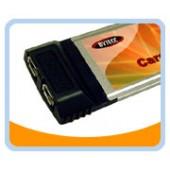 FW-PCMCIA-2  Firewire IEEE 1394a PCMCIA CardBus-2 ports