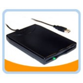 BT-144  Slim Black USB External Floppy Disk Drive