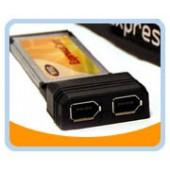 BT-ECFW  2 Ports Firewire 400/1394A ExpressCard