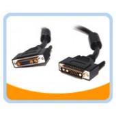 13W3MF-6  6' DB13W3 (SUN) Monitor Male to Female Cable, Black