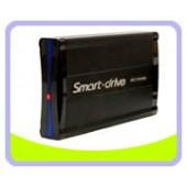 "ME350V4-ISA-BK  3.5"" Aluminum USB 2.0 Smart Drive External Enclosure for IDE & SATA Hard Drive (Black)"