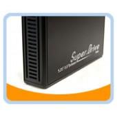 "ME-535ISA-BK  5.25"" Aluminum USB 2.0 External Enclosure for IDE & SATA Drive (5.25"" Optical Drive & 3.5"" Hard Drive) (Black)"