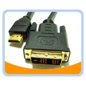 HMD  HDMI High Speed Male to DVI-D Male Single Link Cable