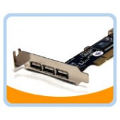 BT-U2310LV  USB 2.0 3+1 Ports Low Profile PCI Card