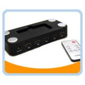 WE088  5 to 1 HDMI* SWITCH, With Remote Control