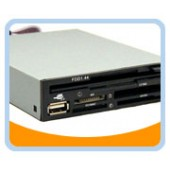 "BT-146  All-in-1 internal 3.5"" Card Reader/USB2.0 port/ Floppy Drive Front Panel"