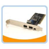 BT-FW310V  3 External Ports + 1 Internal Firewire 400/1394A PCI Card (VIA Chipset)