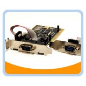 BT-P2SL  LOWPROFILE PCI Serial Card 1+1 Port