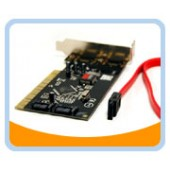 BT-P2SATAL  LOWPROFILE PCI Serial ATA (SATA) Host Controller Card, 2 ports)