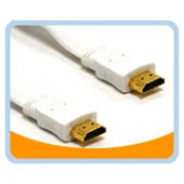 HM-FMW  HDMI High Speed Male to Male White Cable - Retail pack