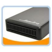 "ME-535LIMITED-BK  5.25"" Aluminum USB 2.0, Firewire/1394A, 1394B, & eSATA External Enclosure for SATA Optical Drive & Hard Drive (Black)"