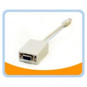 "MIDP-VGA005  Mini DisplayPort to VGA 0.5ft (6"")  Adapter"