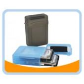 """HD-BOX25K  Dual 2.5"""" Hard Drives Protection Box (BLACK)"""