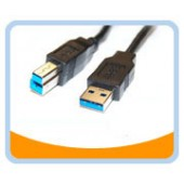 USB3-AB  USB 3.0 SuperSpeed CABLE - Type A Male to Type B Male