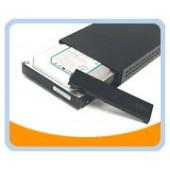 "HD-35SU2FW-BK  USB 2.0 & Firewire/1394A Aluminum Easy-Open External Enclosure for 3.5"" SATA Hard Drive (Black)"