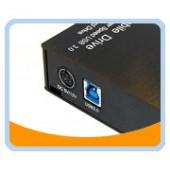 """HD-35SU3-BK  USB 3.0 Aluminum Easy-Open External Enclosure for 3.5"""" SATA Hard Drive (Black)"""