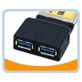 BTU3-EC200  2 Ports USB 3.0 ExpressCard