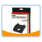 "Bracket-35225  2.5 Inch HDD/SSD Mounting Kit For 3.5"" Drive Bay or Enclosure"