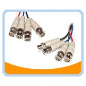 4BNC  4BNC to 4BNC Male to Male Cable