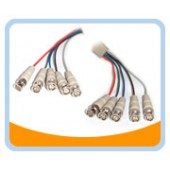 5BNCRGB to 5BNC RGB Video Cable, Male to Male