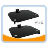 AV-122  DVD/AV/LCD Tempered Glass Easy Wall Mount (2 Stand)