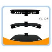 AV-123  DVD/AV/LCD Tempered Glass Easy Wall Mount (3 Stand)