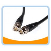 BNC Composite Video cable, Male to Male, Black