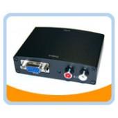 HM201  HDMI® to VGA + R/L Audio Converter