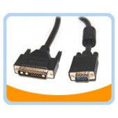 HD15M/13W3M-6  6' HD15 to DB13W3(SUN) Male to Male Cable, Black