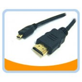 HM-MICRO  HDMI Male to HDMI micro Male High Speed Cable with Ethernet