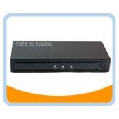 HM107  CVBS/ S-Video + R/L to HDMI Converter