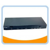 HMSW301C   3 x HDMI®+DVI+SPDIF+YPbPr+L/R Audio to HDMI® Multifunctional Home Theatre Switcher