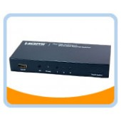 Ultra High Performance 3 Ports HDMI® Amplifier Switcher w/ Remote Control & Intelligent Switch