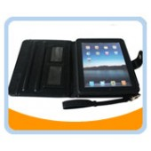 IP-CASE Ipad 2 Black Leather Carrying Case