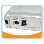 "ME350V4-SU3  Aluminium Super Speed USB 3.0 to Sata 3GB/s 3.5"" HDD Enclosure, For Sata II HDD"
