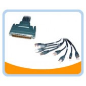 CAB-OCTAL-2M  6FT HD68M/8 LEGS RJ45 Cable