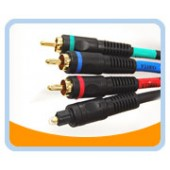 P3VT  Premium Component Video with Toslink Audio CABLE
