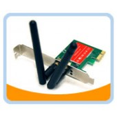PCIE-LAN A2   PCI-E Wireless Network adaptor, 300M IEEE 802.11 b,g &n