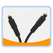 PT  PREMIUM TOSLINK AUDIO CABLE - Black Jacket
