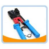RJCTL-2   RJ-11/RJ-12/RJ-45 Modular Plug Crimping Tool, Ratchet Type