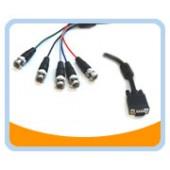 VGA/5BNC  VGA to 5BNC RGB Video Cable, Black