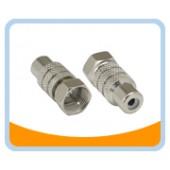 FP-RJ   F Plug to RCA Jack Adaptor