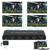 1x4 HDMI 2.0 4K@60HZ/HDCP 2.2
