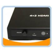4x2 HDMI® 4K2K Matrix Fast Switch with Audio