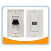 HMWP1 HDMI® Wallplate, 1 Port