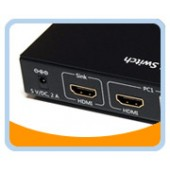 2X1 USB HDMI® KVM Switch